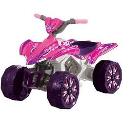 Kid Motorz 6V Xtreme Quad Battery-Powered Ride-On Toy Pink G