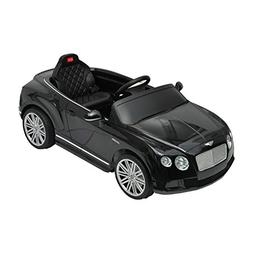 Aosom Bentley GTC Kids 6v Electric Ride on Toy Car w/ Parent