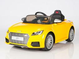 BIG TOYS DIRECT Audi TTs 12V Kids Ride On Battery Powered Wh