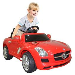 Goplus Kids Ride on Car Drivable Mercedes Benz Electric/ Bat