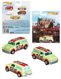 Hot Wheels - The Beatles 67 Austin Mini Van  Sgt Peppers Lon