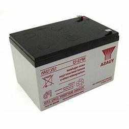 Yuasa Genuine NP12-12 12 Volt 12 AmpH SLA Battery with F2 Te
