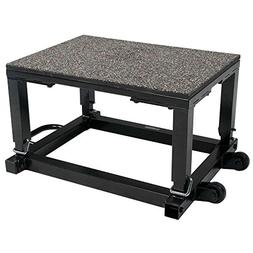 Power Systems Step Up Box with Wheels, Height Adjustable fro