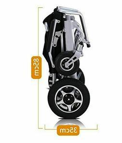 Air Travel Lightweight Fold Electric Power Wheelchair Power