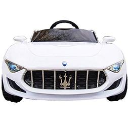 KidOne Licensed Maserati Alfieri Ride on Electric Toy Car fo