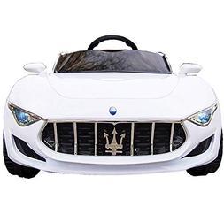 KidOne Licensed Maserati Alfieri Ride on Electric Toy Car fo