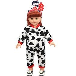 AMOFINY New DIY Doll Clothes Dress Doll Baby Kids Gifts Jump