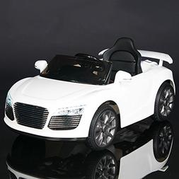 Audi R8 Style Kids 12V Battery Powered Wheels Ride On Car MP