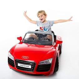 Costzon Audi R8 Spyder 12V Electric Kids Ride On Car License