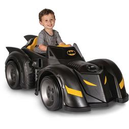 Batman Batmobile 6V Battery Powered Ride On Car Toy Kids Ele
