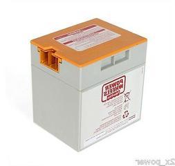 Power Wheels Battery Orange Top Gray 12 volt 00801-1776 Matt