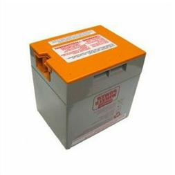 Power Wheels Battery Orange Top Gray 12 volt 00801-1776 Matt
