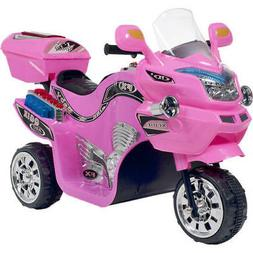 Kids Battery Powered Motorcycle Ride On Toy 3 Wheel Electric