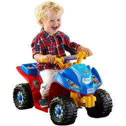 Battery Powered Ride On Toys Power Wheels Paw Patrol Quad To