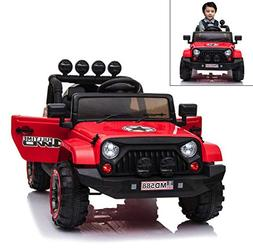 12V Battery Kids Ride on Cars Electric Power Remote Control
