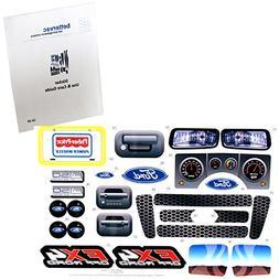 Power Wheels BBM94 Ford F-150 FX4 Decal Sheet #BBM94-0330 Wi