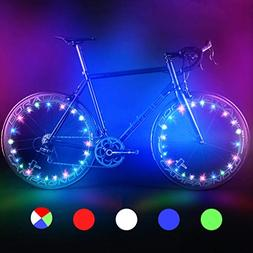 Bodyguard Bike Wheel Lights,Automatic and Manual Lighting,Wa