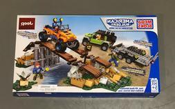 Mega Bloks Jeep Off Road Adventure Building Set