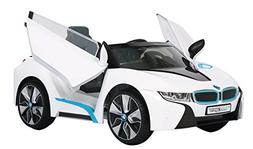 BMW i8 6 Volt Quad Powered Ride On - White