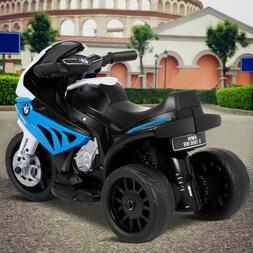 BMW Licensed Electric Motorcycle 6V Kids 3 Wheels Riding
