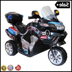 Boys Ride on Toy Electric Battery Powered 3 Wheel Motorcycle