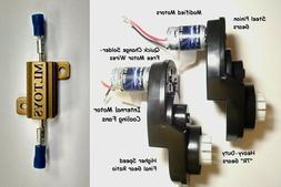 BRM + PAIR of Power Wheels Gearboxes & Motors for Dune Racer