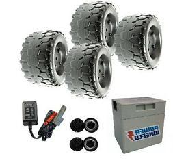 Power Wheels W4473 Barbie Jammin' Jeep Wrangler Wheels, Batt