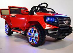 Ride on Car Two Seater 2 Motors One Big Battery 12V-7Ah Big