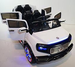 Ride on Car Two Seater. 2 Upgraded Motors. One Big Battery 1