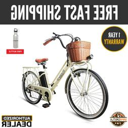 "26"" 250W Cargo-Electric Bicycle 6 speed e-Bike 36V Lithium B"