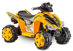Kid Trax CAT Power ATV 6V Battery-Powered Ride-On Toy