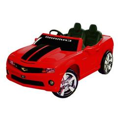 Chevrolet Racing Camaro 12v Mini Car - Kid's Ride on Toy