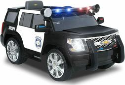 Rollplay Chevy Tahoe Police SUV 6-Volt Battery-Powered Ride-