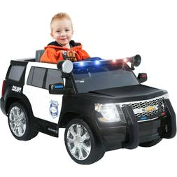 Chevy Tahoe Police SUV Powered Ride On 6 Volt Battery Rollpl