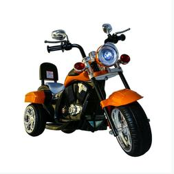 CHOPPER STYLE ELECTRIC RIDE ON MOTORCYCLE FOR KIDS - 6V BATT