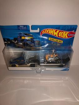 HOT WHEELS CITY RIG / CAR INCLUDED - STEEL POWER A2