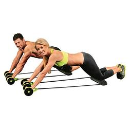 New Sport Core Double AB Roller Exercise Equipment,Professio