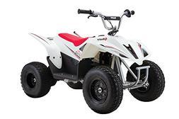 Razor Dirt Quad 500 DLX ATV Battery Powered Riding Toy, Whit