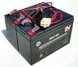 Razor Dirt QuadBattery Replacement - Includes Wiring Harnes