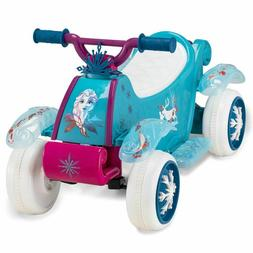 Disney Frozen 2 Kid Trax Quad 6V Battery-Powered Ride-On Toy