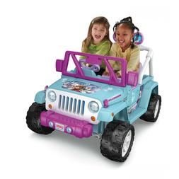 Power Wheels Disney Frozen Jeep Wrangler - Ride-On