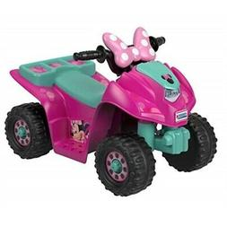 Power Wheels Lil' Quad Featuring Disney Minnie, Mouse