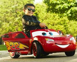 Disney Pixar Lightning McQueen Cars 6-Volt Battery-Powered R