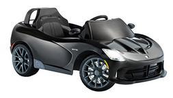 Kid Trax Dodge Viper SRT 6V Ride On, Black