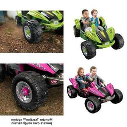 Power Wheels Dune Racer 12 Volt Battery Ride On Car Hand Sup
