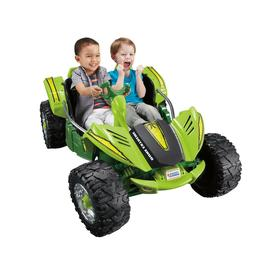 Ride On Power Wheels Dune Racer Extreme Green Electric Batte
