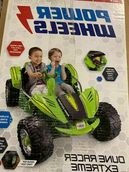 Power Wheels Dune Racer Extreme Green Kids Electric Battery