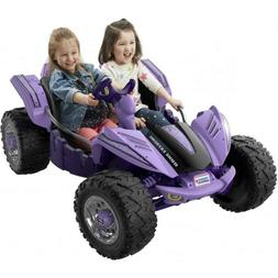 Power Wheels Dune Racer Extreme Purple Electric Battery Car
