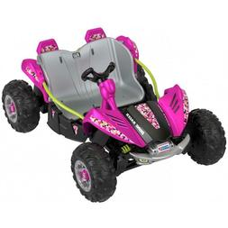 dune racer extreme ride on vehicle pink