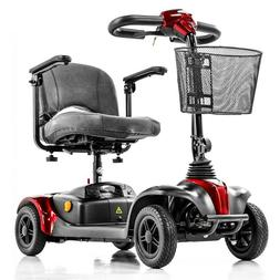 New E-Wheels Medical EW-M39 Lightweight 4 Wheel Electric Tra